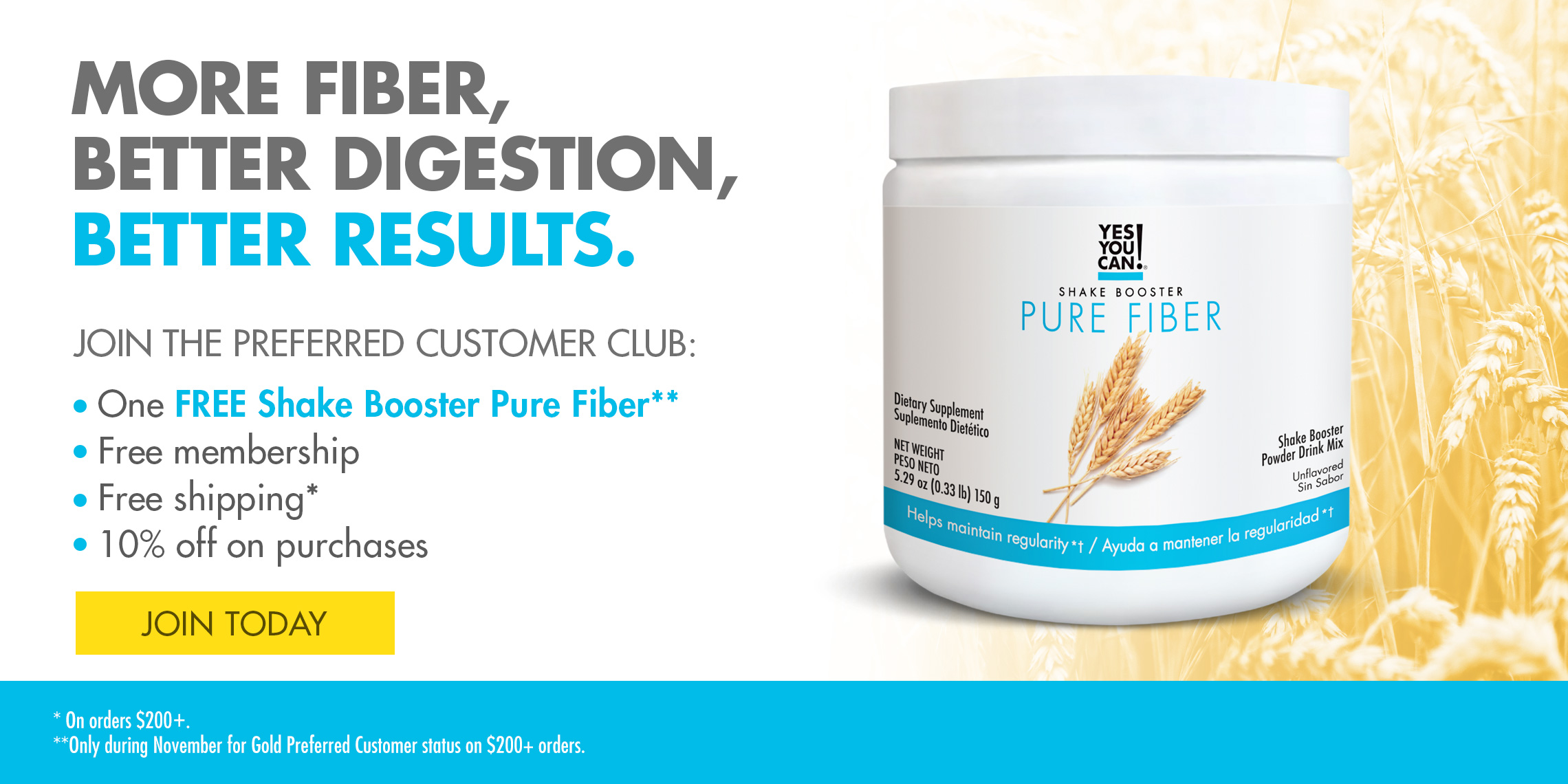 Yes You Can! -Promo Pure Fiber 2020
